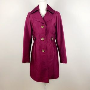 Kenneth Cole trench coat jacket